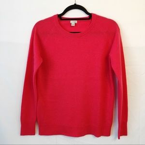 Halogen 100% cashmere crew neck sweater